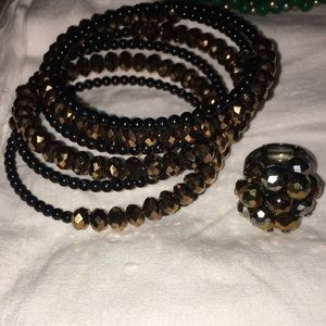 Jewelry - BUNDLE! Bracelet and ring